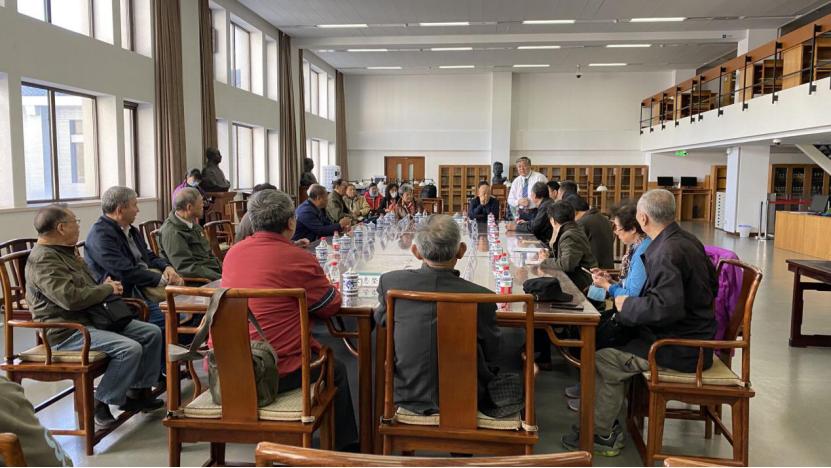 八路军研究会与国家图书馆联合举办  《赵城金藏》观摩座谈会