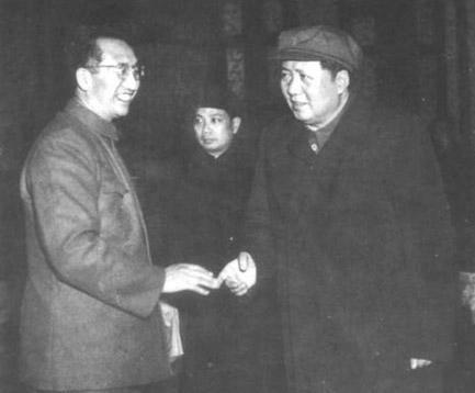 徐向前与毛泽东主席