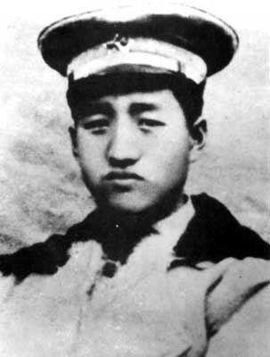 1925年徐向前在国民革命军第二军时的留影