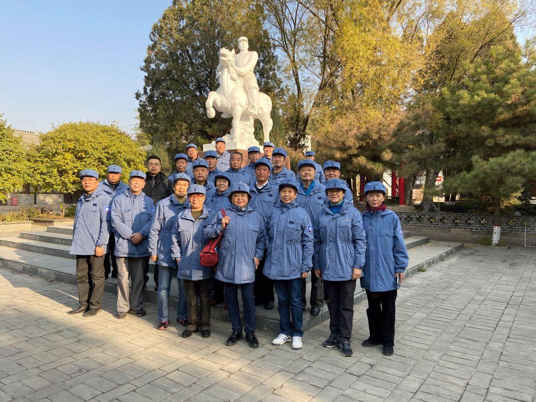 三五九旅分会组织120师后代分队  开展纪念百团大战胜利80周年纪念活动