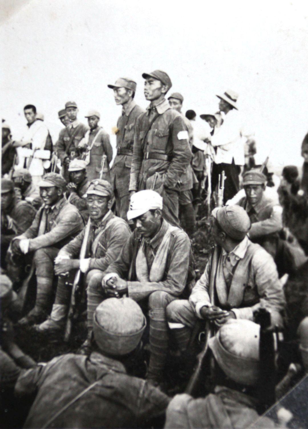 八路军抗日战场寻访记