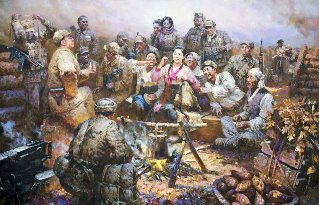 《致敬最可爱的人--朝鲜主题油画展》筹备千日 盛大启幕!