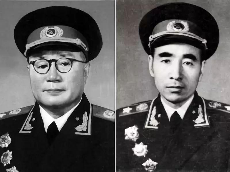 刘伯承元帅与林彪元帅