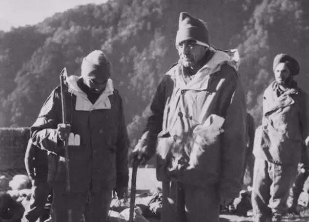 对印自卫反击战中,被俘的印军第七旅旅长达尔维准将