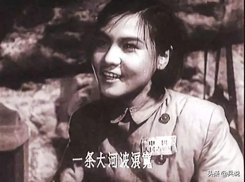 影片《上甘岭》中的卫生员王兰(刘玉茹饰)