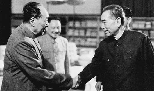 毛泽东、邓小平、周恩来