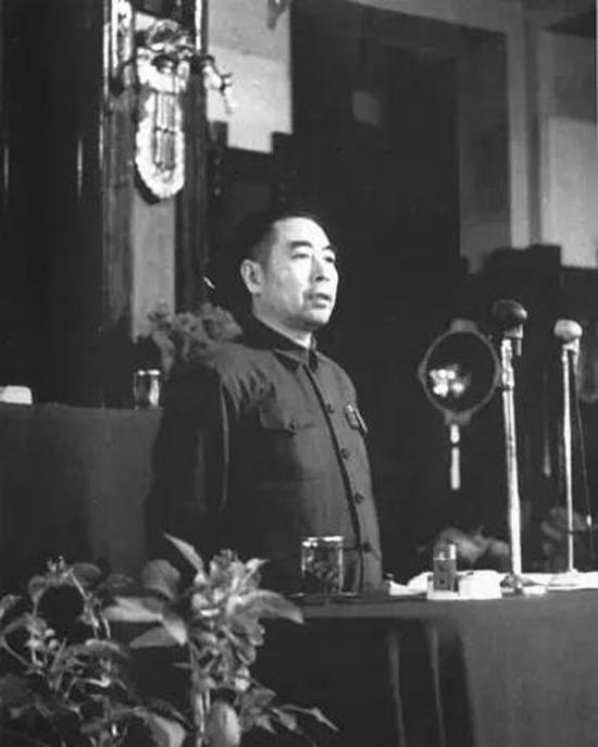 1949年9月17日周恩来主持新政协筹备会第二次全体会议