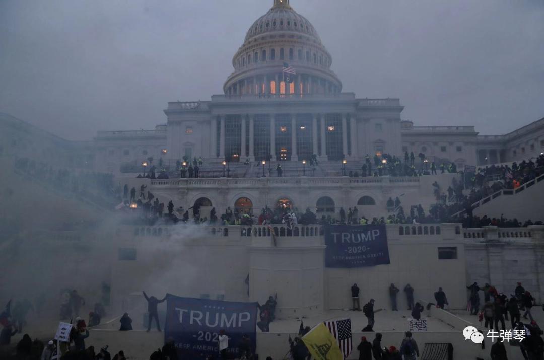 一觉醒来,国会陷落,美国大乱了!