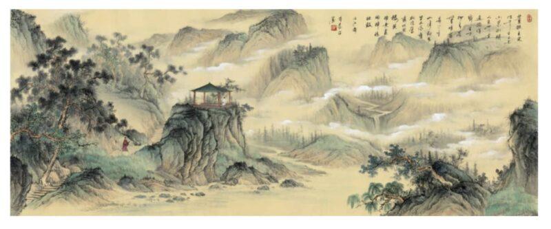 刘蒙将军书画作品《董狐笔》
