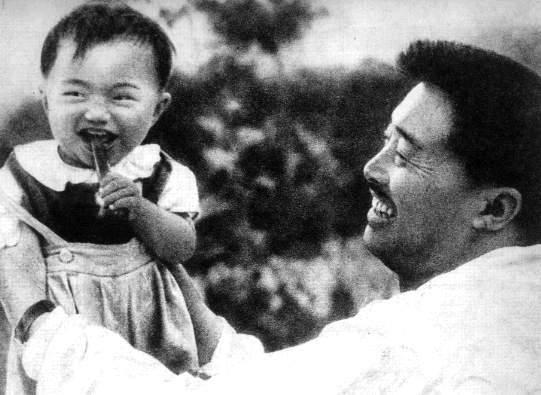 贺龙与孩子