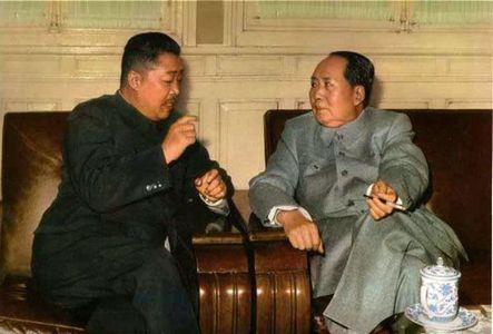 贺龙和毛泽东
