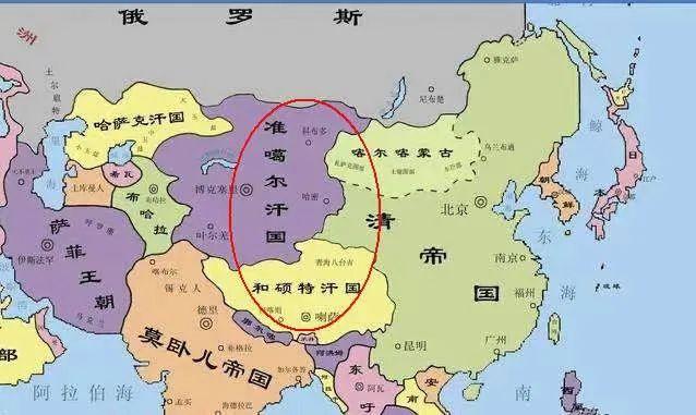 新疆是怎么并入中国版图的?