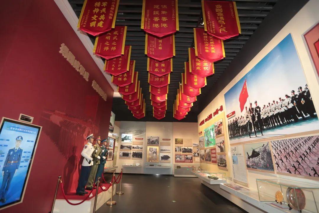驻香港部队展览中心建成开放,精彩现场一睹为快!