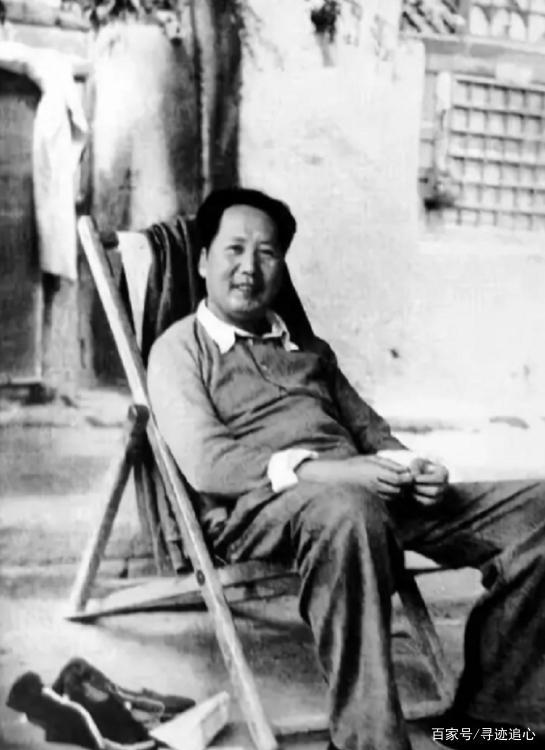 延安时期的毛主席