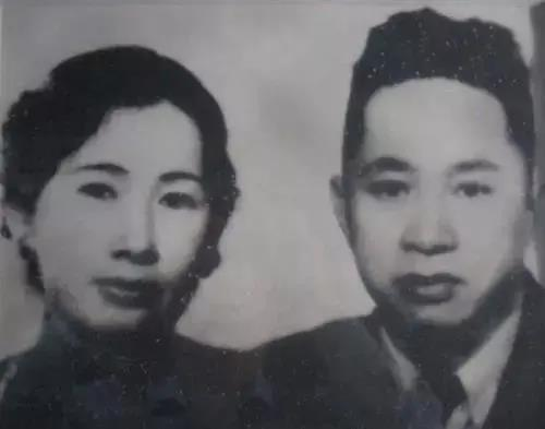 叶挺与夫人李秀文