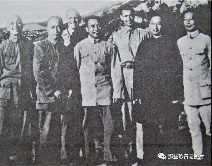 用老照片纪念陈毅元帅诞辰120周年