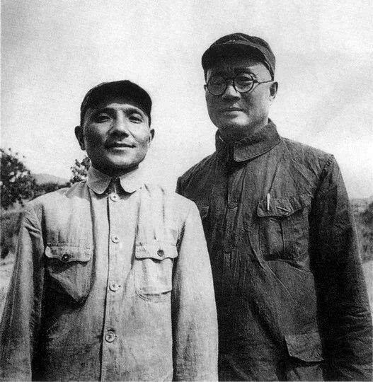 刘伯承和邓小平