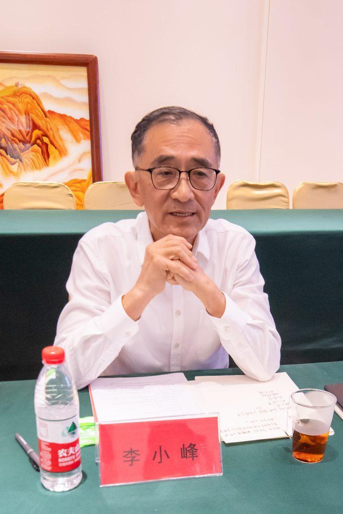 太行分会秘书长李小峰发言