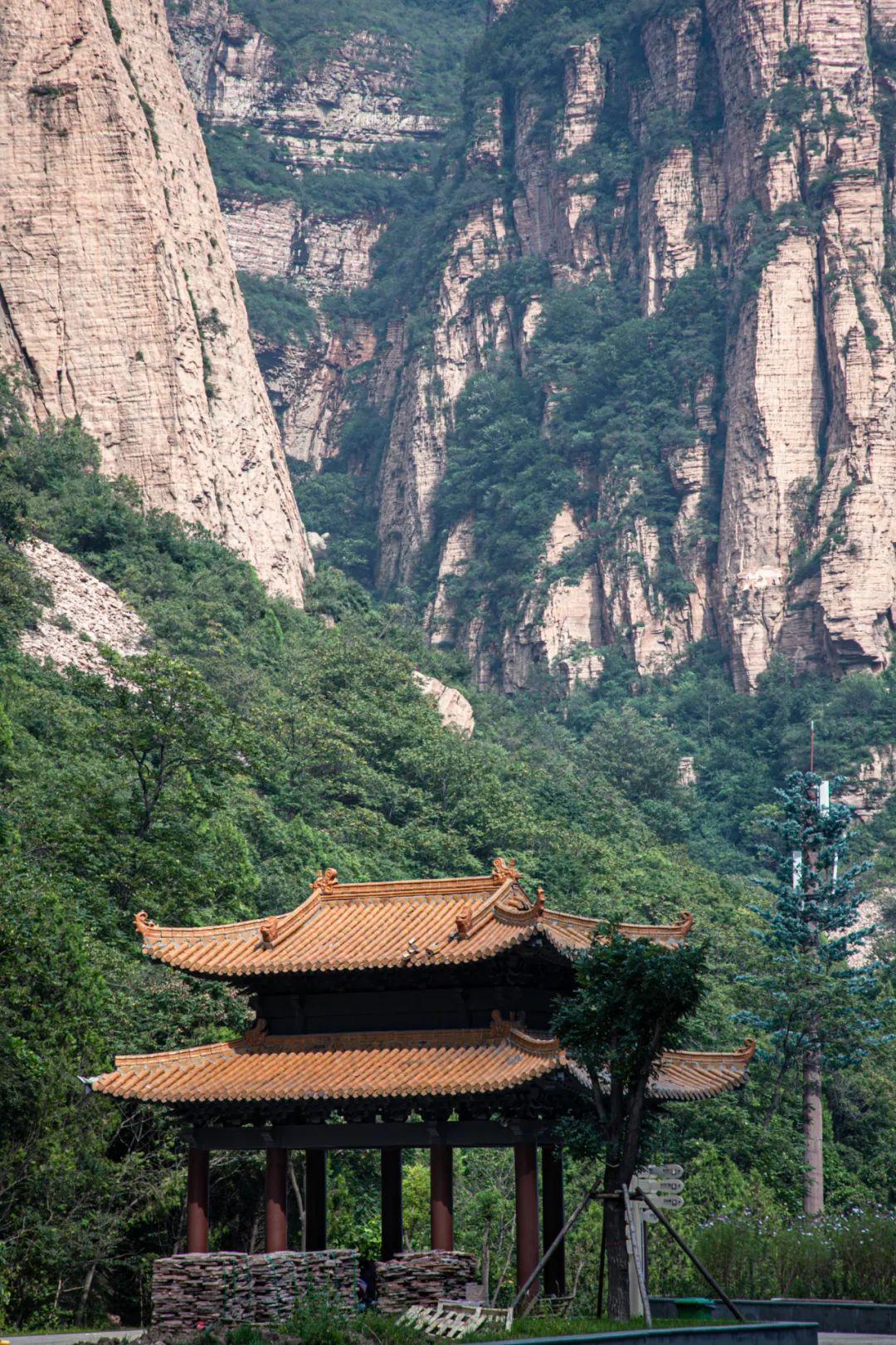 绝美!太行山中段,藏着一个巍峨壮丽的峡谷秘境