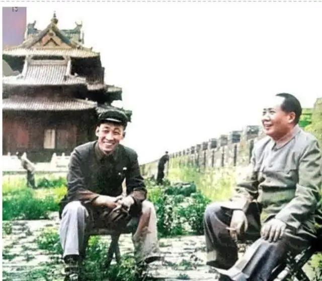 这是你没有见过的毛主席照片
