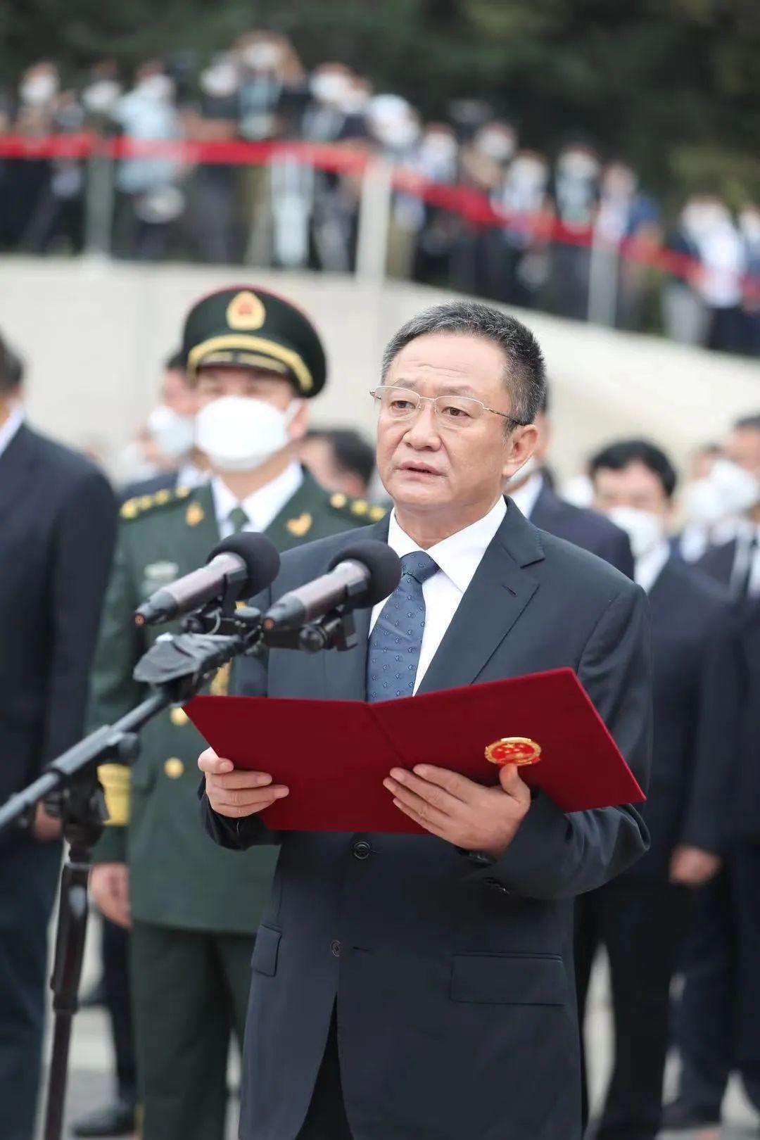 孙绍骋致第八批在韩志愿军烈士遗骸安葬祭文