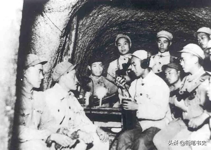 抗美援朝战争中的通信兵