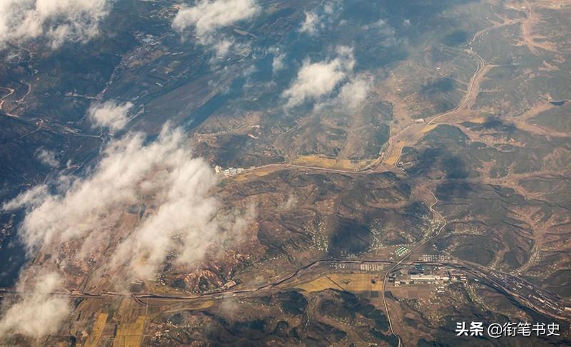 朝鲜山区航拍