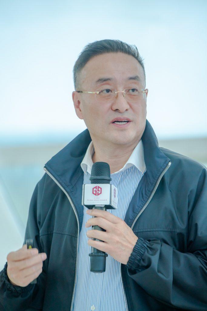 李中子先生介绍红色情怀带动绿色产业