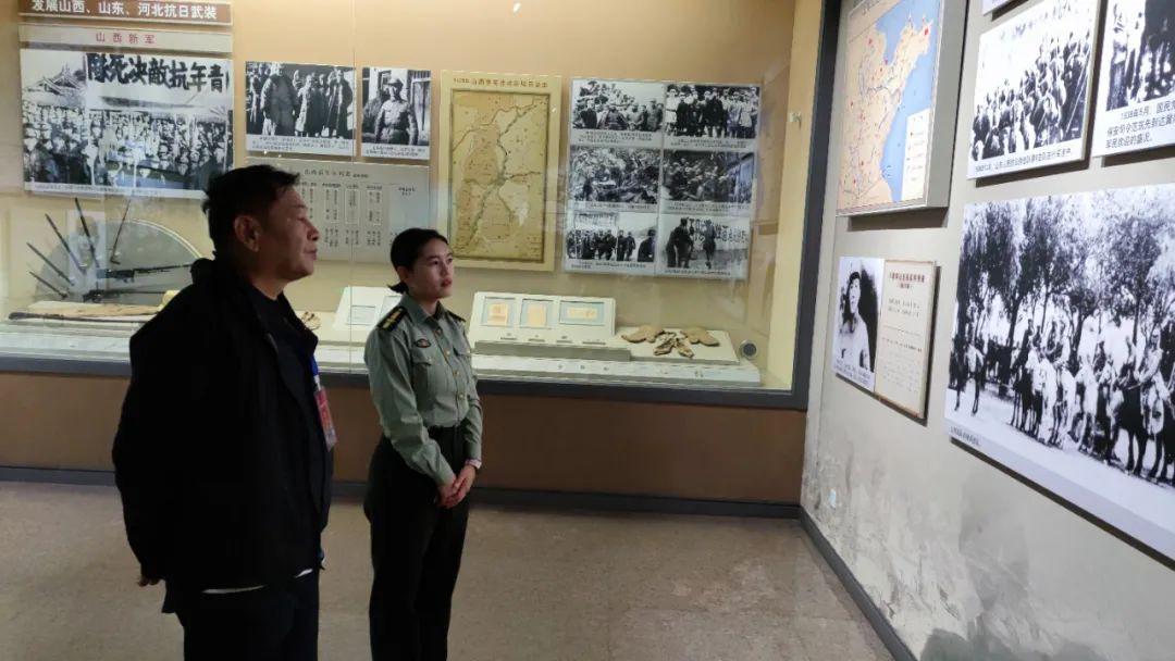 开国上将宋任穷之子宋京波重返太行,参观八路军太行纪念馆