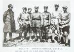 朱德总司令和一二九师等领导人共商团结抗战、反摩擦大计。前排左起:杨秀峰、邓小平、朱德、刘伯承、罗瑞卿聂荣臻。