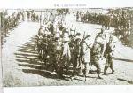 黎城、辽县的女民兵接受检阅。