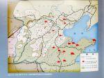 1937年11月至1938年10月,八路军创建华北敌后抗日根据地略图。