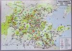 """1939年至1940年,华北抗日根据地军民""""反扫荡""""斗争形势图"""
